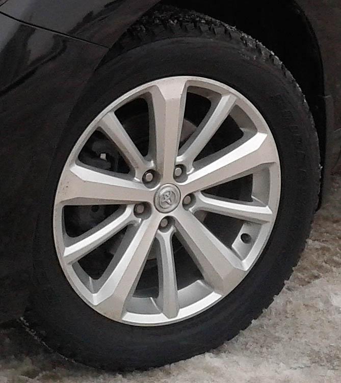 Toyota Highlander Club - Зимние колеса 19